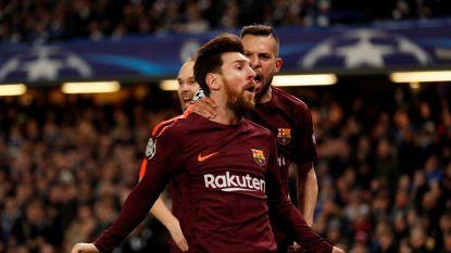 LIVE CL: Messi scoort zijn allereerste goal tegen Chelsea! Courtois kansloos na defensieve blunder (1-1)