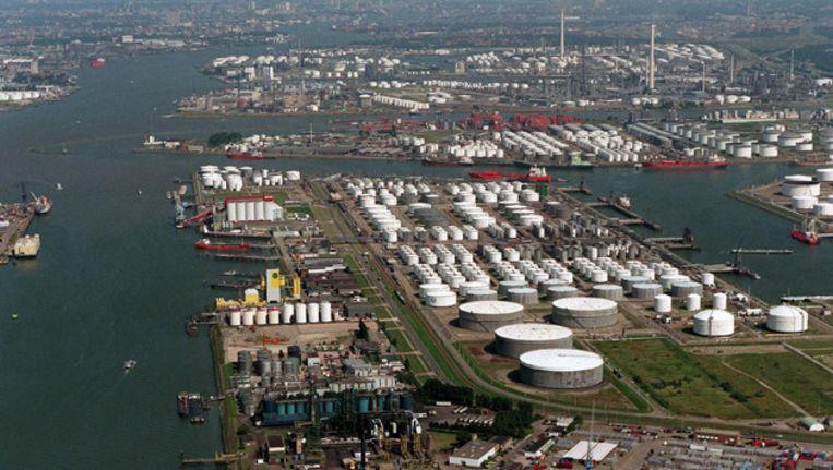 Het Botlekgebied in Rotterdam Beeld ANP