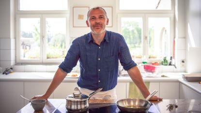 Topchef Frederick Dhooge verlaat zijn keuken en komt koken bij je thuis