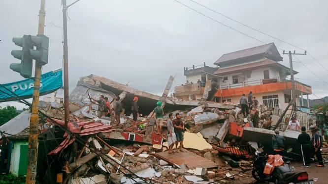 Zware aardbeving op Indonesië eist al 42 mensenlevens, ook meer dan 600 gewonden