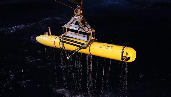 De onderwaterrobot Bluefin 21.