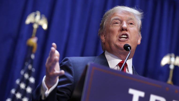 Miljardair Donald Trump. Beeld ap