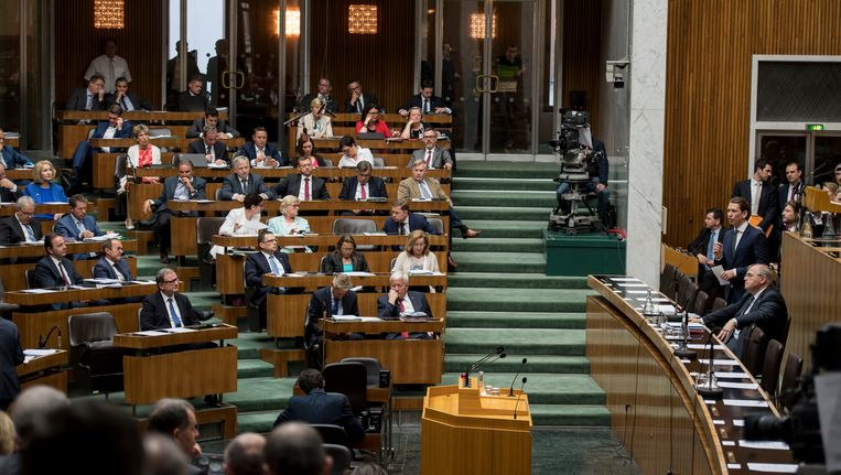 Het parlement in Oostenrijk.