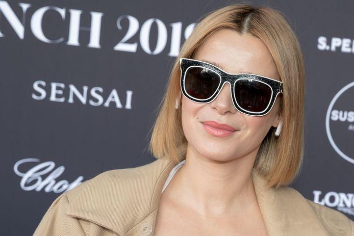 Victoria Koblenko, hier met zonnebril.