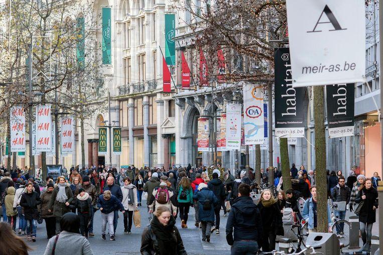 In Antwerpen is  49,2 procent van de inwoners van buitenlandse herkomst.