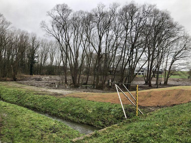 Het overstromingsgebied aan de Maalbeek werd uitgebreid met 10.000 kubieke meter.