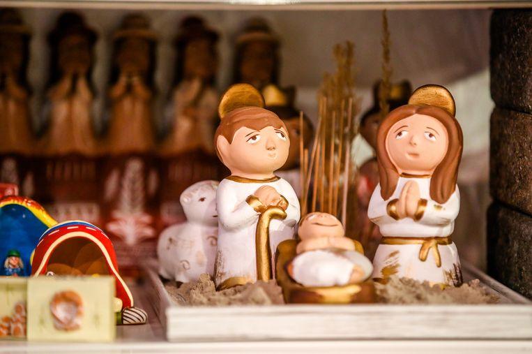Een kerststal uit Peru.