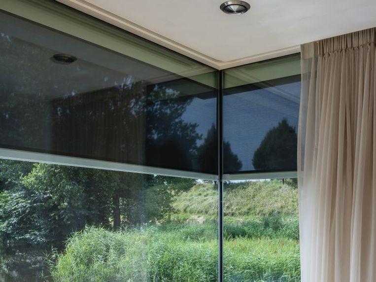 Verticale screens houden de temperatuur in je woning onder controle.
