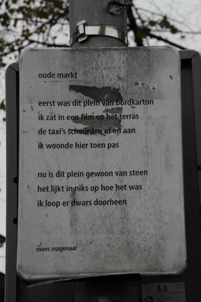 In Beeld Binnenstad Enschede Wemelt Van Poëtische