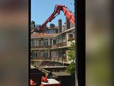 12 woningen aan Linnaeusstraat ontruimd door brand
