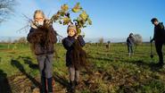 Twintig voetbalvelden bos aangeplant op Dag van de Natuur