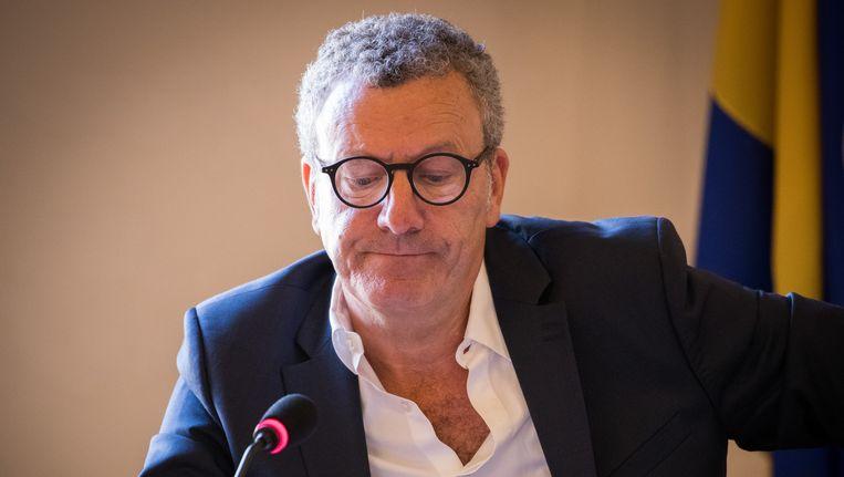 Voormalig Brussels burgemeester Yvan Mayeur.