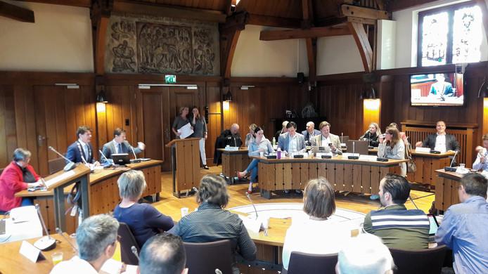 De nieuwe raadzaal in het stadhuis van Breda.