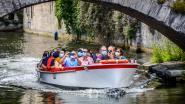 """VIDEO. Er varen weer toeristenbootjes op de Brugse reien: """"We rekenen op de Belgen en hopelijk snel weer op toeristen"""""""