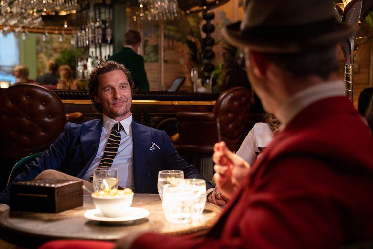 Matthew McConaughey in The Gentlemen. Beeld