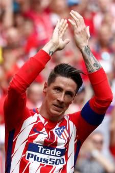 Fernando Torres scoort twee keer bij laatste duel voor Atlético Madrid