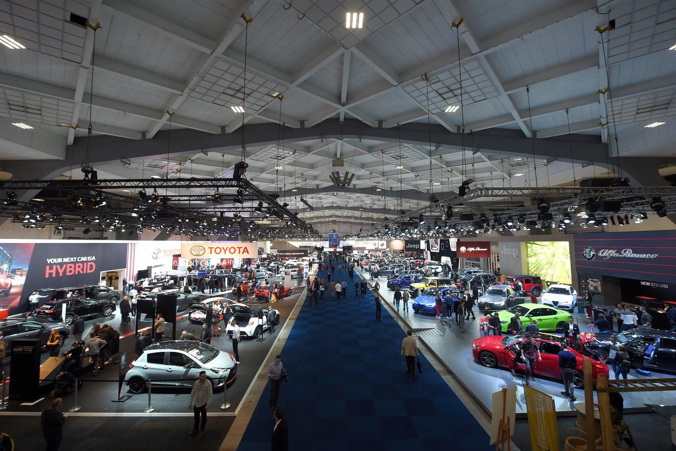 Le 98e Salon Auto et Moto de Bruxelles, en janvier 2020.