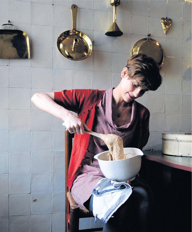 De Simon-koek, ontwikkeld door eetontwerper Marije Vogelzang. Museumhuis Simon van Gijn. Beeld -