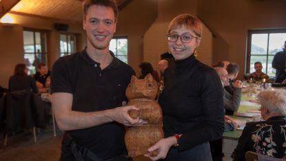 Nutz is nieuwe mascotte van Het Prullenbos