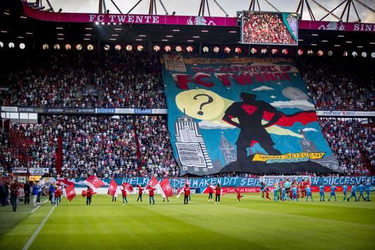Aan sfeer geen gebrek bij FC Twente - Sparta.