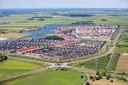 Overzicht van de wijk Groote Wielen in Rosmalen. Linksboven aan der plas komt het laatste deel van de wijk.