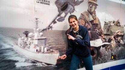 Marine te gast in Wijnegem Shopping: zestienjarige Margot wil zo snel mogelijk de zee op