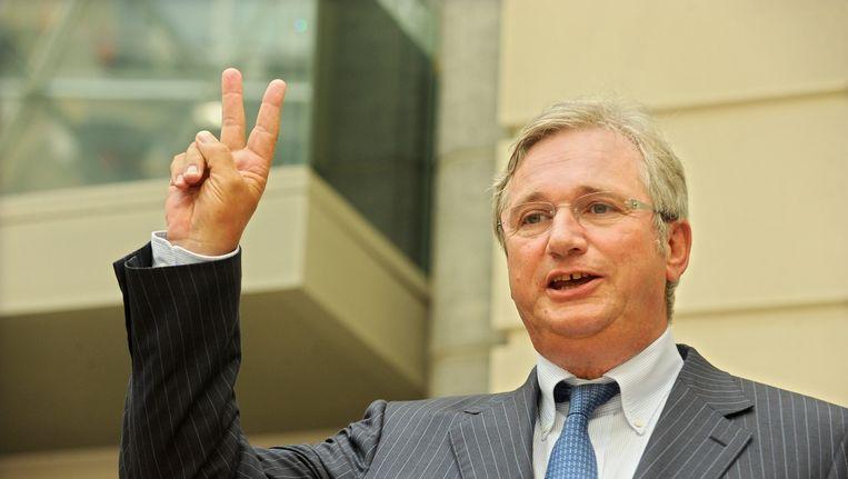 Burgemeester van Koksijde Marc Vanden Bussche.