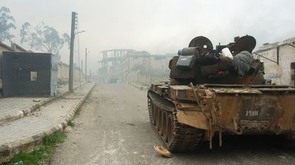 Leger Syrië neemt strategisch gelegen grensplaats in