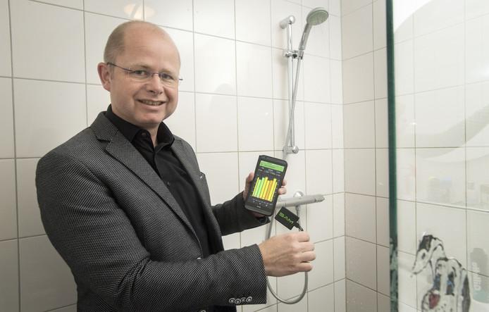 Startende ondernemer Dennis van Heijningen is prijswinnaar van de grensoverschrijdende ondernemersprijs GRUNDERstein Award.