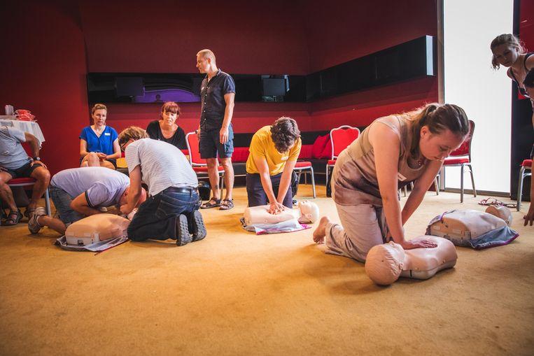 De Gentse Feesters leren deze week ook levens redden.