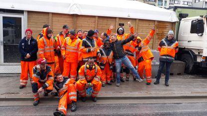"""Gemeentediensten halen 30 ton afval op na carnaval: """"Merci voor jullie inzet"""""""