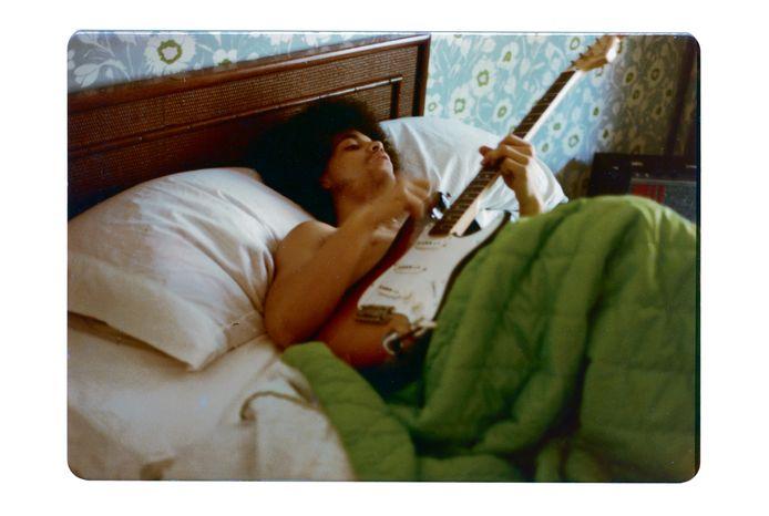 Prince in 1978, toen hij korte tijd in Orono, Minnesota woonde. De foto komt uit zijn privécollectie.