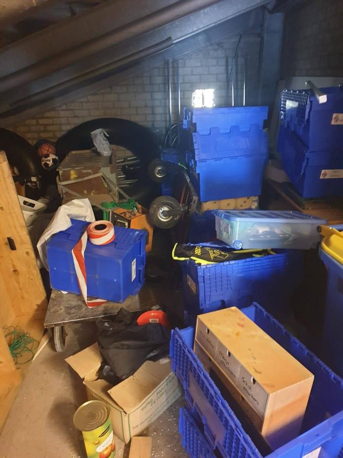 Spullen voor het pupillenkamp van Blauw Geel'38 in Veghel zijn gestolen.