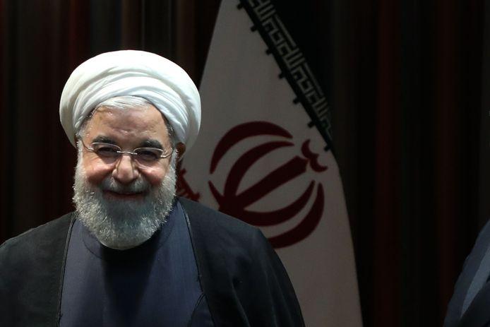 Le president iranien Hasan Rohani