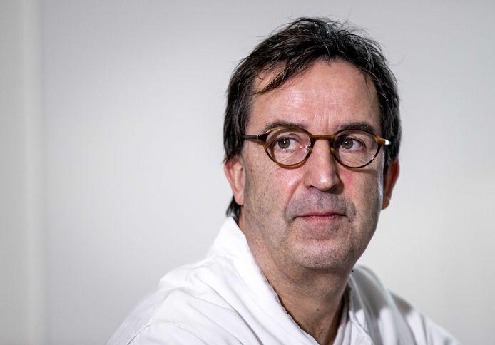 Afdelingshoofd IC Diederik Gommers van het Erasmus MC.