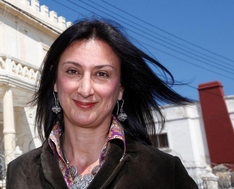 De vermoorde Maltese journaliste Daphne Caruana Galizia.
