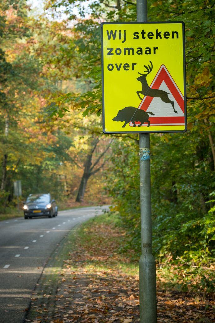 Het bord aan de Molenweg.