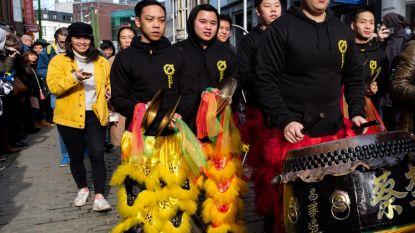 Chinese parade trekt opnieuw door Antwerpen