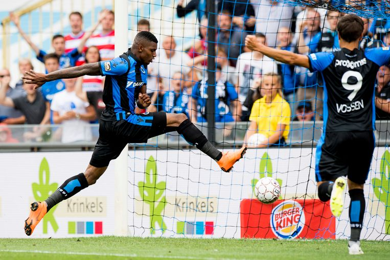 Tegen Eupen scoorde Wesley meteen twee keer.