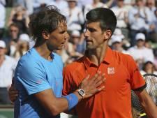 Djokovic stuurt Nadal in drie sets naar huis