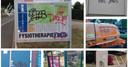 De politie in Lochem zoekt de graffitispuiter die deze 'tag' gebruikt.