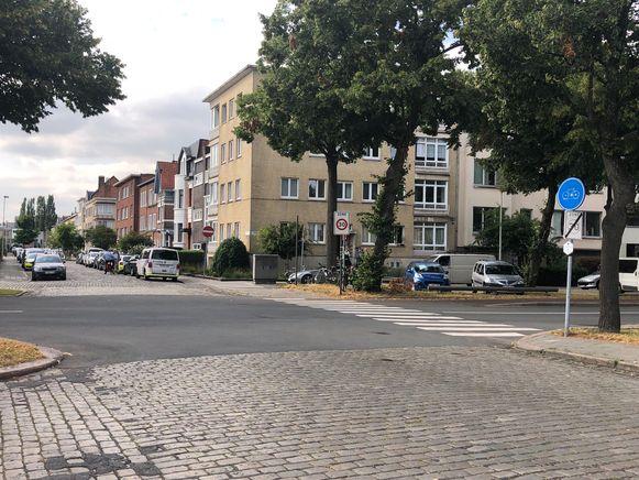 Het incident deed zich voor in de Koninklijkelaan in Berchem.