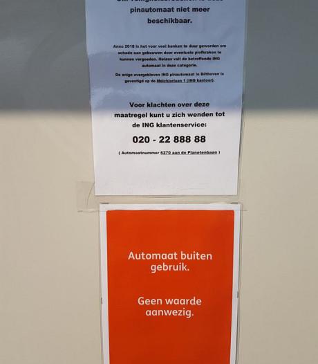 Zorgen om verdwijnende pinautomaten