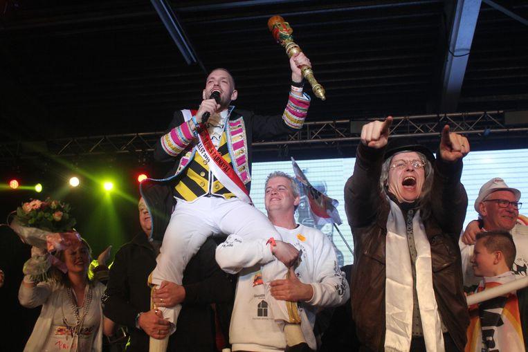Bart De Meyst wint de prinsenverkiezing.