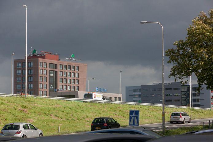 Langs de A12 bij Veenendaal is de afgelopen jaren een ICT-campus verschenen.