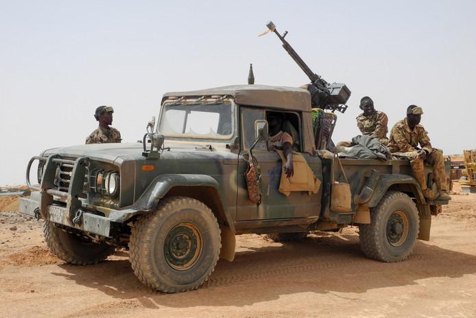 Het leger van Mali heeft steeds minder controle over delen van het land.