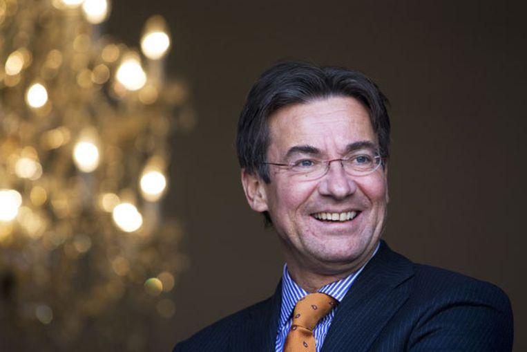 Minister Maxime Verhagen (Buitenlandse Zaken) wil meer doen voor de mensenrechten van homoseksuele mannen en vrouwen in de wereld. Foto: ANP/Valerie Kuypers Beeld