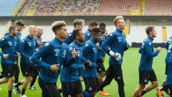 Nieuwkomers Rits, Schrijvers en Letica present op eerste training Club