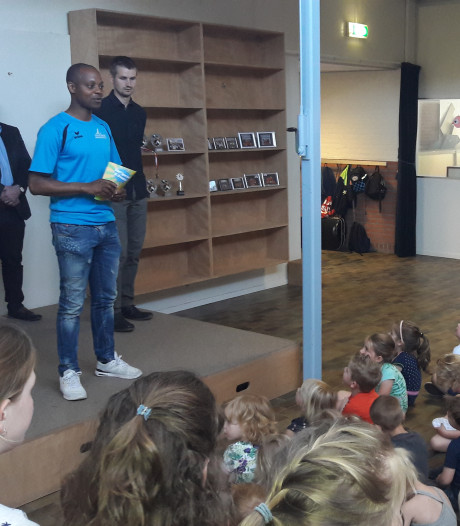 Burgemeester Blok daagt Lieropse jeugd uit