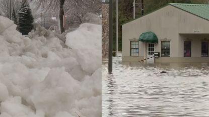 VIDEO. Sneeuwstorm en overstromingen: extreem weer in de Verenigde Staten